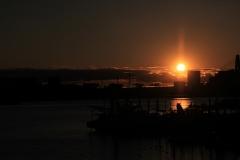 Sunset at Haneda