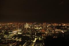 東京中央からの夜景