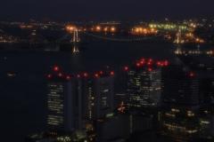 Japan Architecture - Rainbow Bridge at Night