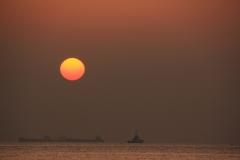 Tokyo Bay at Dawn