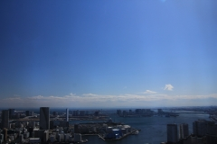 Blue Sky from Caretta Shiodome
