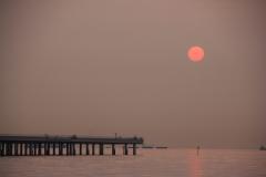 Sunrise from Ukishima Park