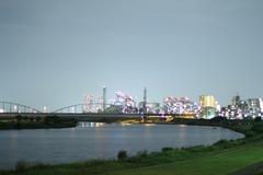 Riverside of Tama River