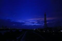 夕日のずっと後