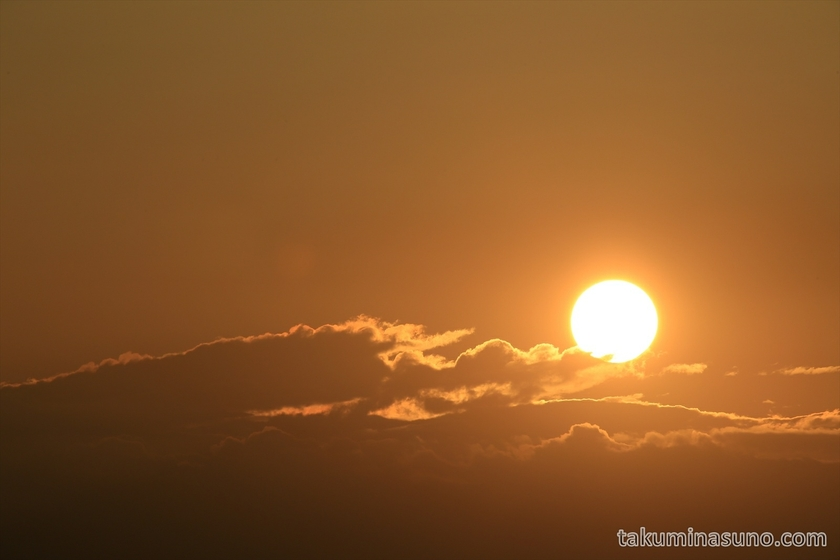 Sunset from Tama River Japan 03