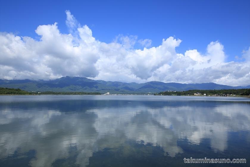 Lake Kamo and the Clouds