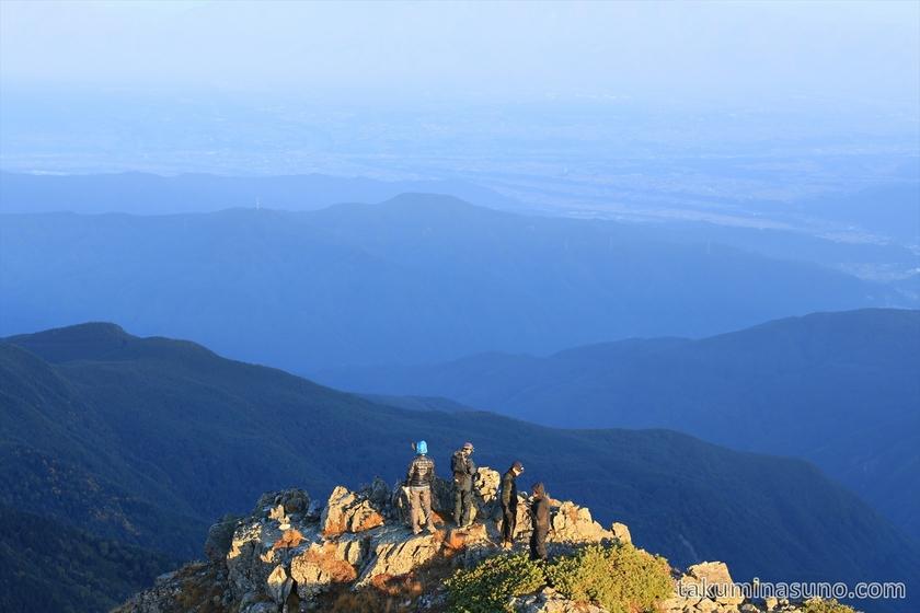 Land of Challenge at Mt Senjougatake