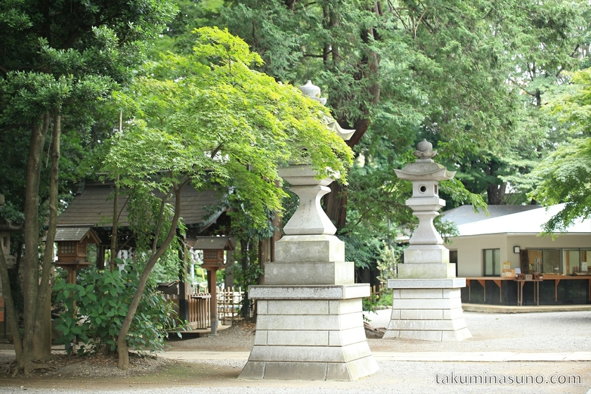 Main Square of Yoyogi Hachiman Shrine