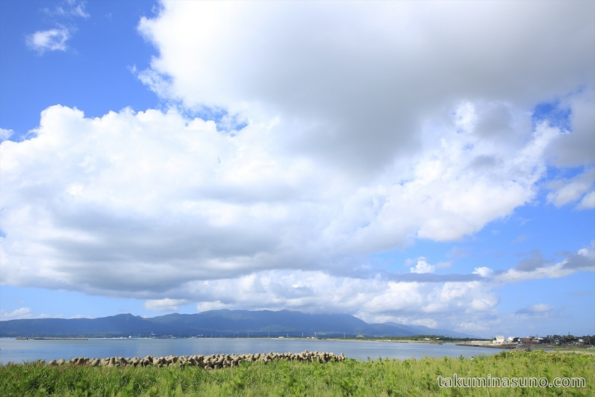 Mano Bay in Sado Island