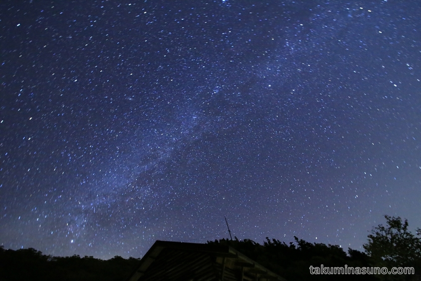 Milky Way at Mt Senjougatake