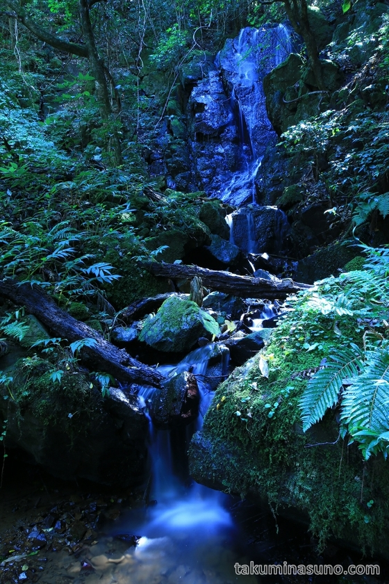 Nabekura-no-taki Waterfall in Sado Island