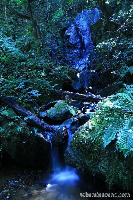 Nabekura-no-taki Waterfall in Sado Island