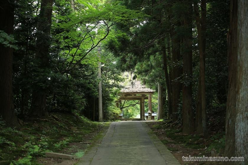 Street of Taiunji Temple