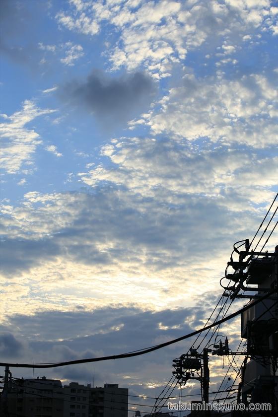 Sunset from Yanakaginza