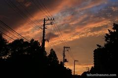 Sky of September Amazes Me a Lot