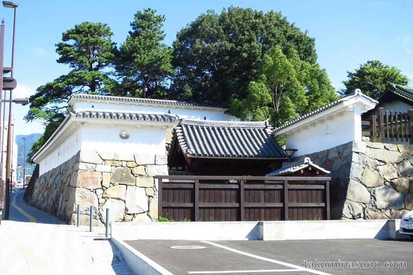 Entrance of Kofu Castle Trace