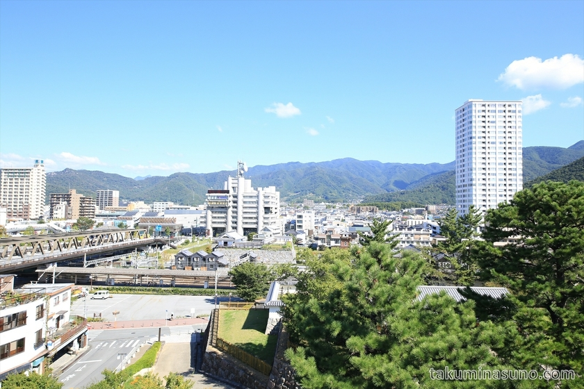 Second View from Kofu Castle Trace