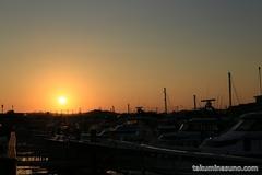 Sunset from Kanazawa Port