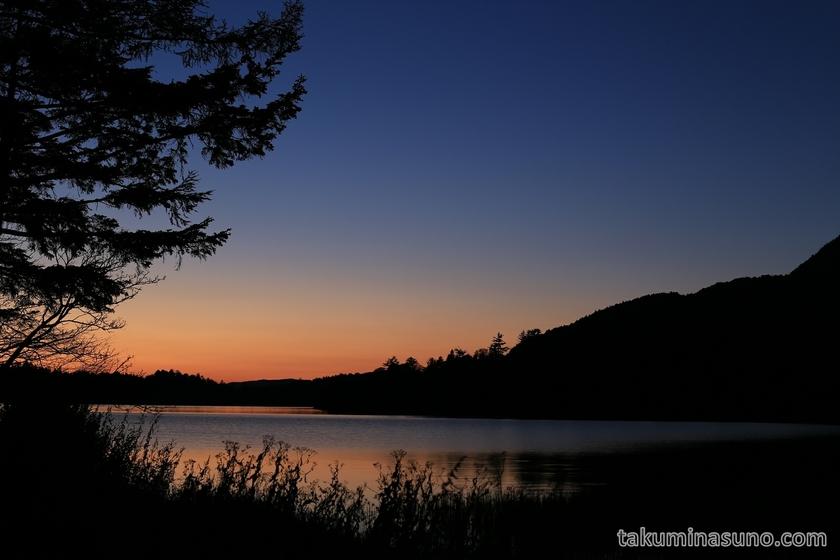 Sunset from Ozenuma Pond Right
