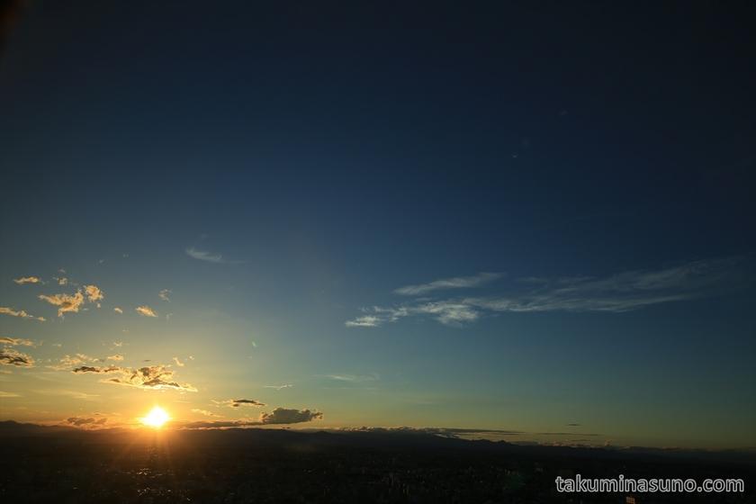 Sunset from Tokyo Metropolitan Tower 3
