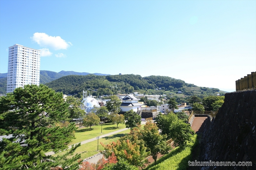 Third view from Kofu Castle Trace
