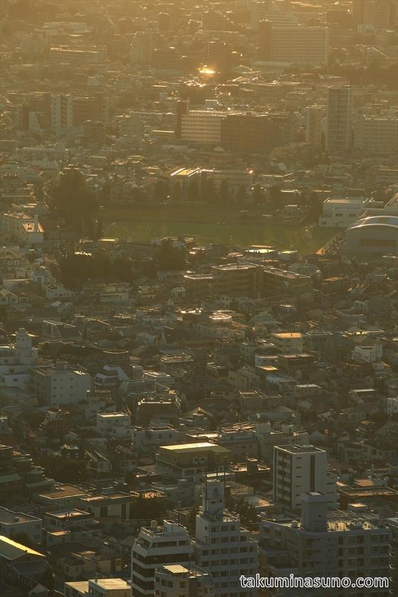 Tokyo under Sunset Sunset from Tokyo Metropolitan Tower