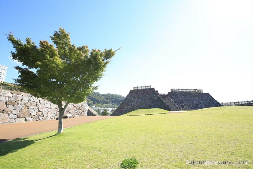 Top of Kofu Castle Trace