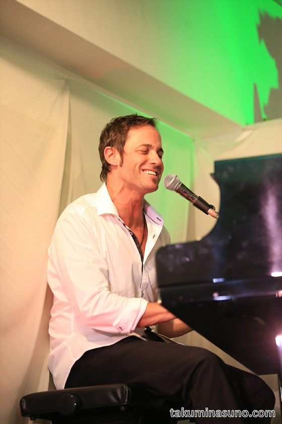 Christian Sbrocca Playing Piano