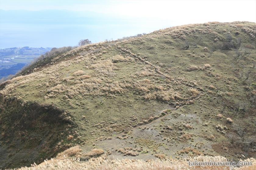 Mountain Path to Mt Otani