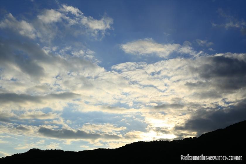 Sunset from Makino Highland