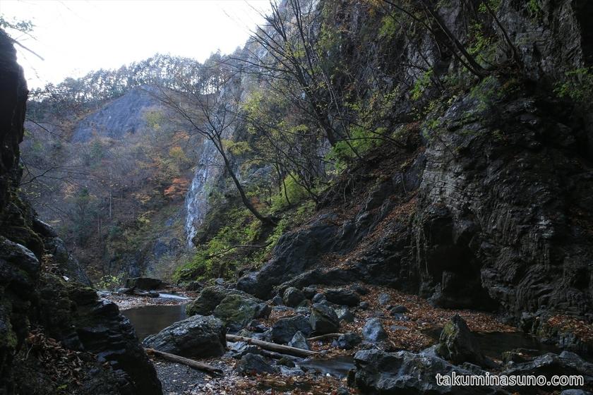 View From Hyakuhiro-no-taki Waterfall