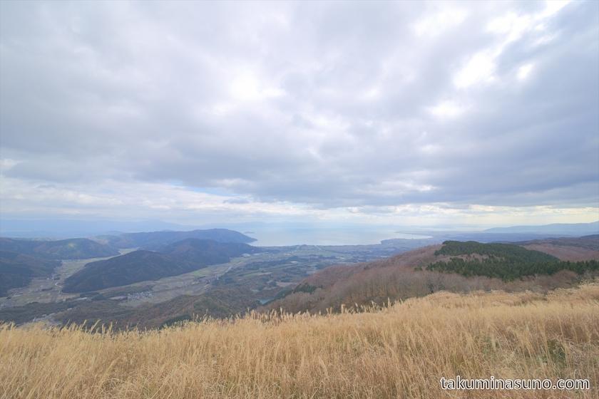 View from Peak of Mt Otani