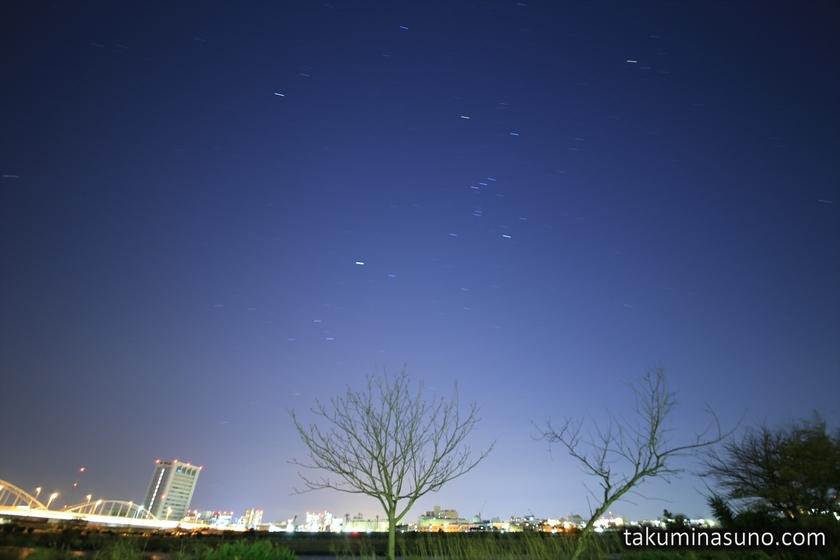 Boked Starscape of Tama River