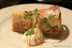 ダダカフェの美味しいバナナチーズケーキ