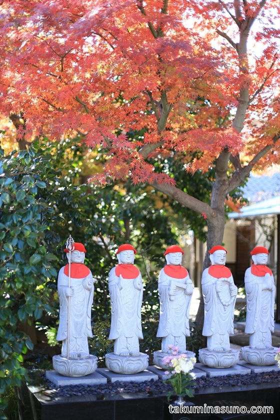 Cute Guardian Deity of Children of Hakusenji Temple at Samezu