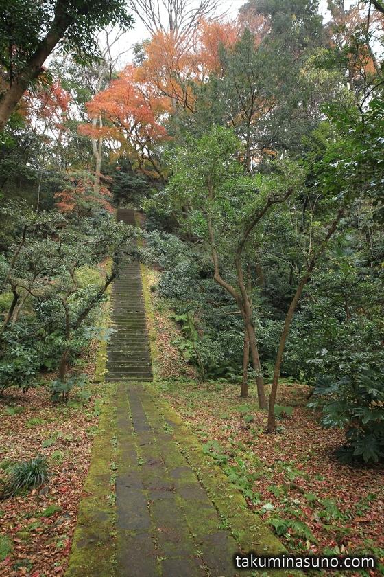 Entrance of Moriyoshi Shinno Grave