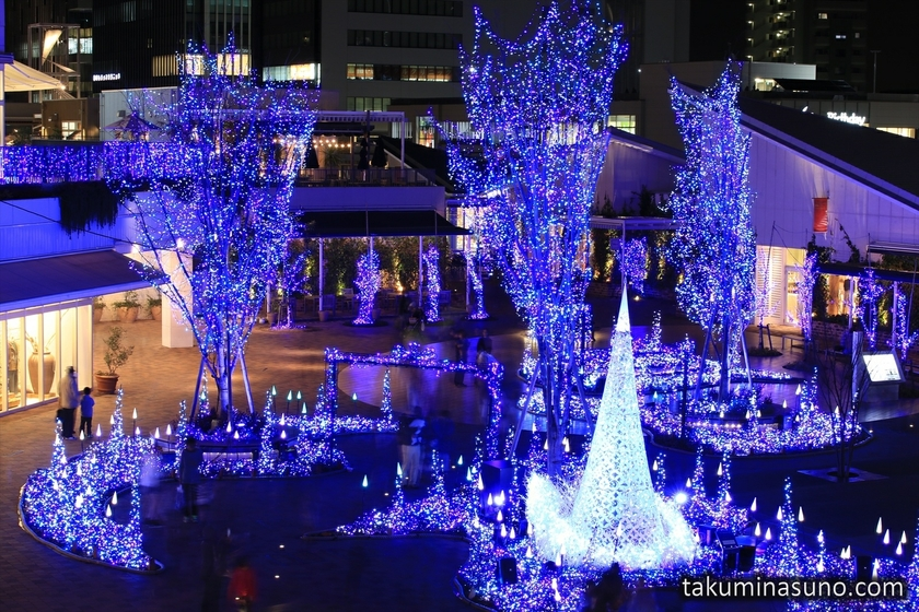 Illuminations of Terrace Mall Shonan