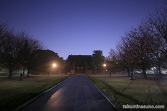 霧、月、星と総持寺