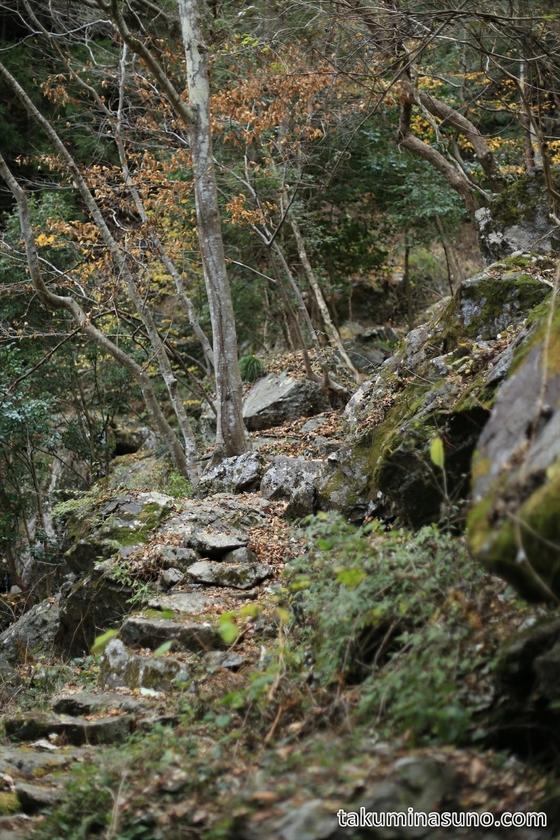Path to Tengu-taki Waterfall