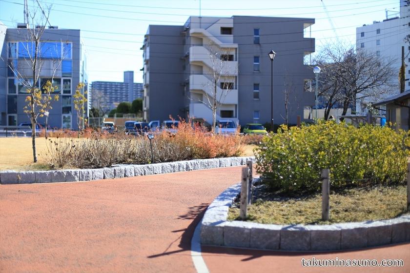 Small Park at Samezu