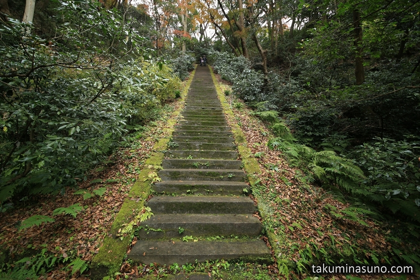 Stairs of Moriyoshi Shinno Grave