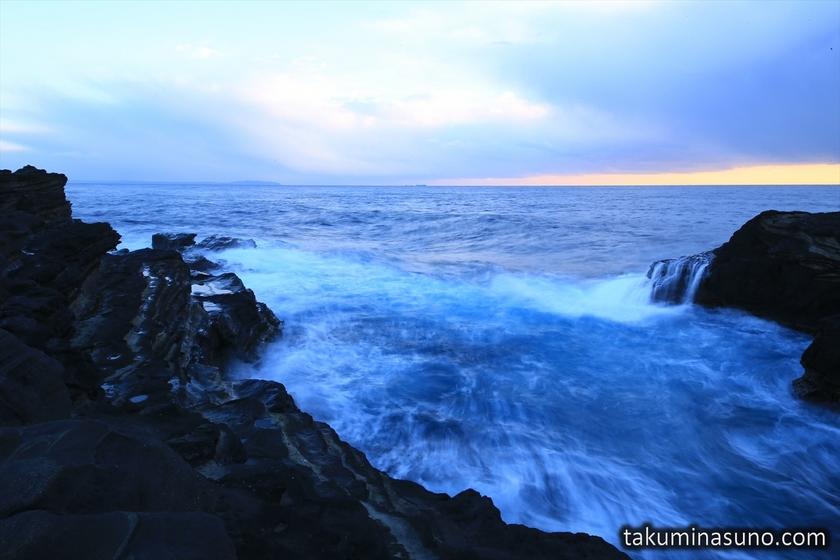 Fast Current of Jogashima Island