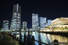 Night Walk - Gorgeous Nightscapes of Yokohama Bay Area (5 Photos)
