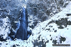 Snowy Waterfall is the Entrance of Greatest Wintry Nature - Hyakuhiro-no-taki Waterfall is Waiting for You!