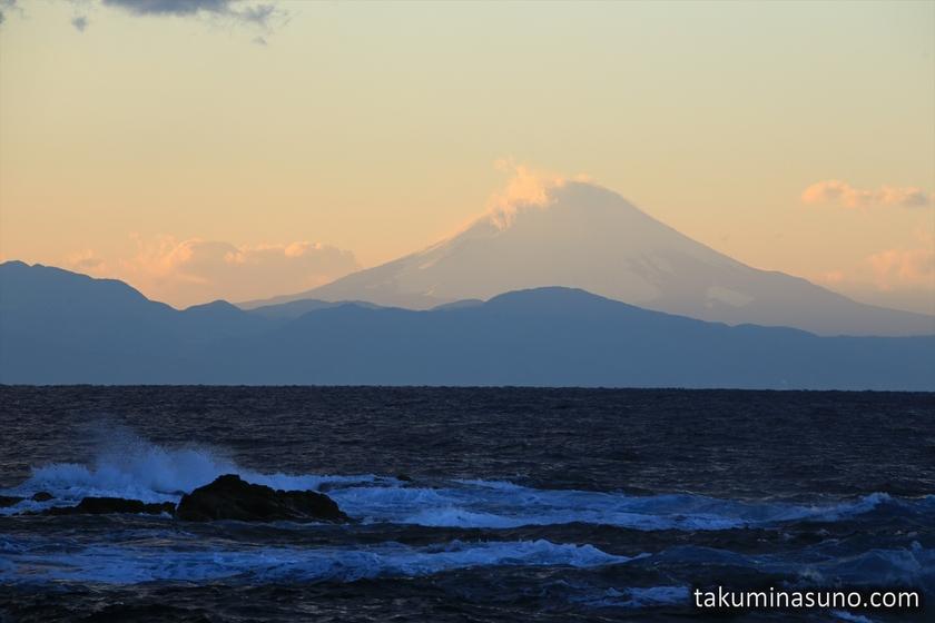 Mt Fuji from Jogashima Island