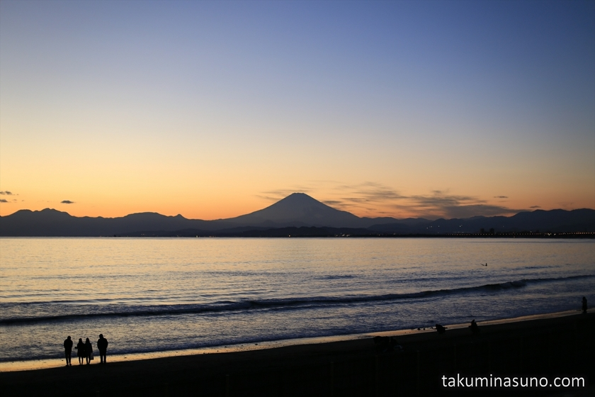 Mt Fuji in the Sunset Time