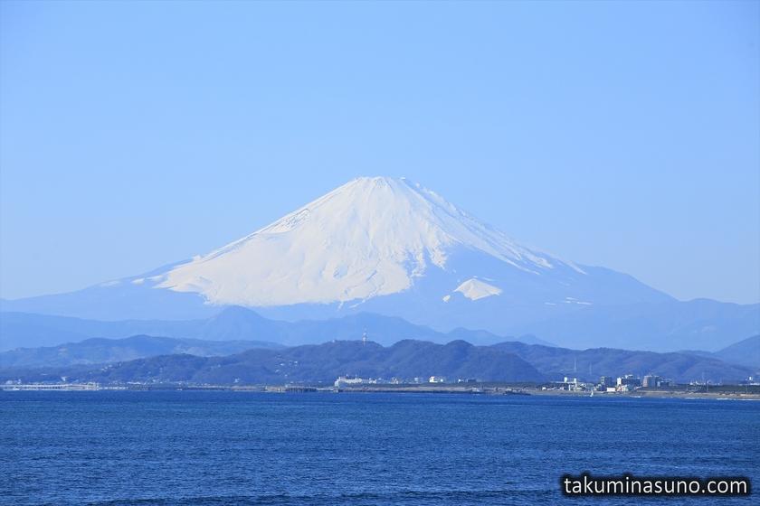 Mt Fuji with Blue Sky