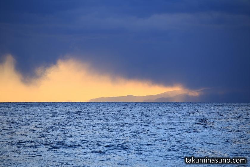 Orange Sky over Jogashima Island