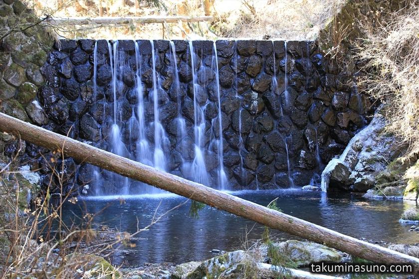 Artificial Waterfall at Unazawa