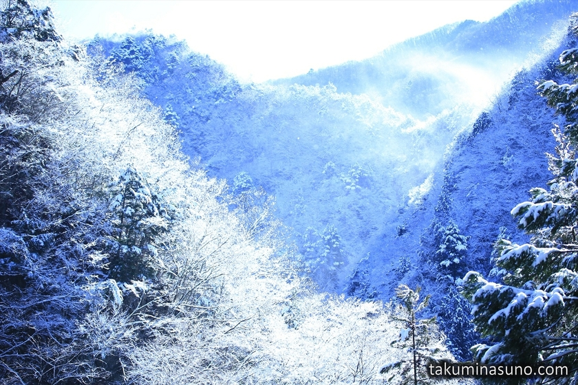 Diamond Dust from Mountains of Okutama